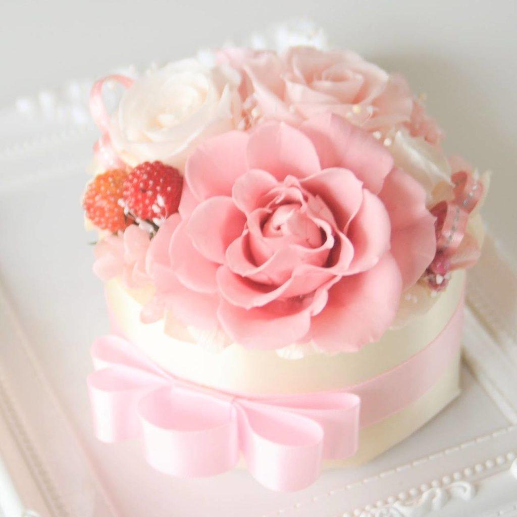 ケーキアレンジメント