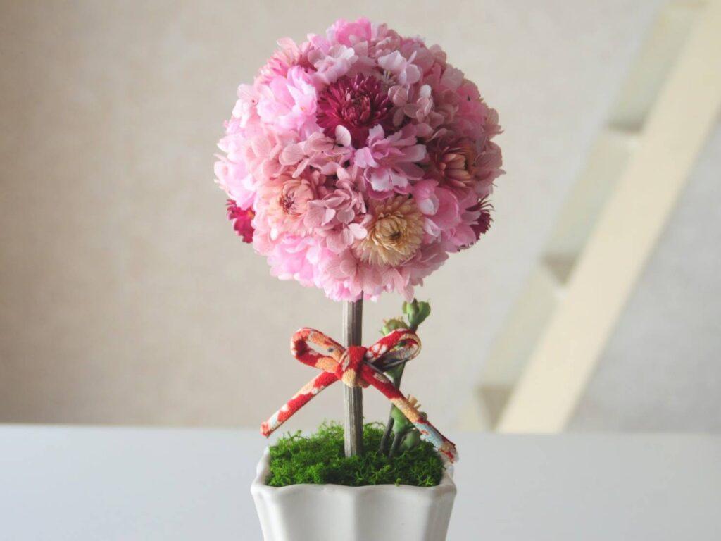 桜トピアリー